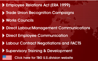 The Burke Group offers  consulting, counter union campaigns, supervisory training, union vulnerability assessments, card signing mitigation, anti-corporate campaigns and more